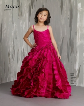 31e20e18f98 Flower Girl or Pageant Style Dress by Macis Design 73983