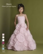Flower Girl / Pageant Style Dress by Macis Design 73990