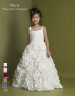 Flower Girl / Pageant Style Dress by Macis Design 73986