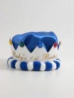 Royal Blue Birthday Crown