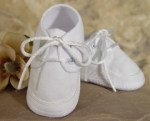 Boys Gabardine Christening Shoes by Little Things Mean Alot