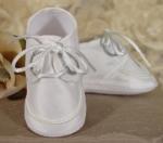 Boys Silk Christening Shoe by Little Things Mean Alot