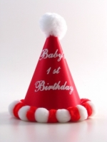 Boys First Birthday Hat Red