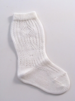 Boys European Knee Hi Socks Ivory