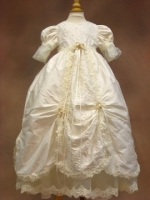 Girls Christening Baptismal Gown by Piccolo Bacio - Virginia