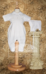 Boys Baptism Outfit Coverall by Little Things Mean Alot