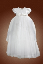 Christening Batismal Dress by Christie Helene - Vivian