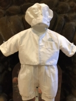 Boys Christening Baptismal Outfit by Christie Helene - Travis