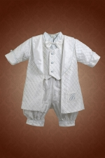 Boys Christening Baptismal Outfit by Christie Helene - Bryce