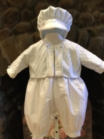 Boys Christening Baptismal Outfit by Christie Helene - Louis
