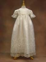 Cassiani Couture Christening Gown - Sabrina