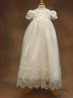 Cassiani Couture Christening Gown - Christina II