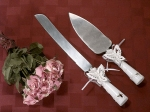 Butterfly Theme Cake and Knife Set