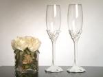 Love Theme Toasting Glasses