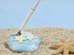 Starfish beach theme pen set