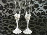Eleganza collection toasting glasses set