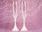 Princess collection toasting glasses set
