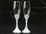 Queen for a day collection toasting glasses set