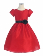 Girls Red Dress by Sweet Kids - 386