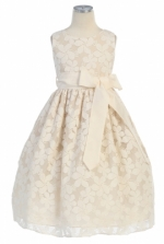 Girls Dress Ivory by Sweet Kids - 282