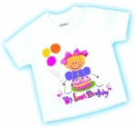 Girls 1st Birthday Shirt by Adorable Originals