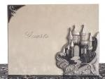 Platinum Castle collection Guest book. 1751CC