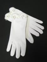 Girls First Communion Gloves - G592