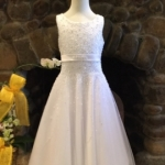 UF5140 Christie Helene First Communion Dress Signature Line 2017 Discounted Discontinued