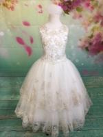 P1429 Christie Helene Elite Signature Collection First Communion Dress  2019 Diamond White