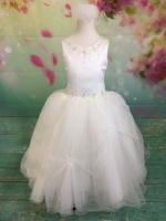 P1432 Christie Helene Elite Signature Collection First Communion Dress 2019 Diamond White