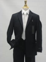 Boys First Communion Suit by Andrew Marc - Navy