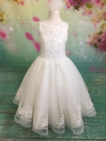 P1474 Christie Helene Signature Line Communion Dress 2019 Diamond White