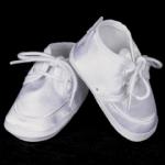 Christening Baptism Satin Shoe for Boys