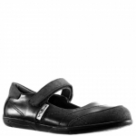 Black Nina Kids Alannah Mary Jane Flat