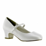 Girls Communion Shoe by Touch Ups  Tabitha - 167